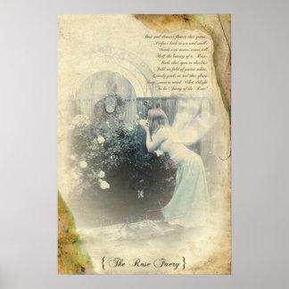 The Rose Faery Print