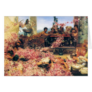 The Roses of Heliogabalus by Lawrence  Alma-Tadema Card