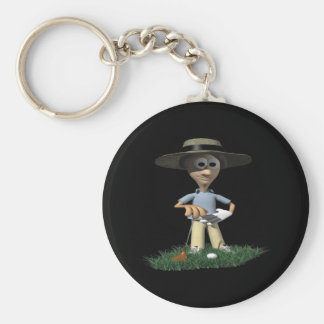 The Rough Gets Rough Basic Round Button Key Ring