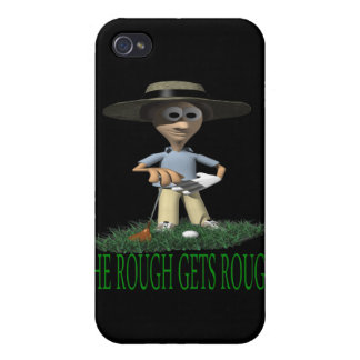 The Rough Gets Rough iPhone 4/4S Covers