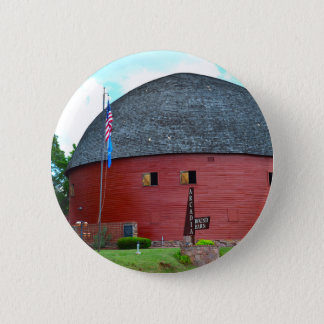 The Round Barn of Arcadia 6 Cm Round Badge