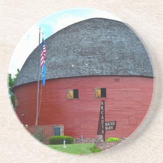 The Round Barn of Arcadia Coaster