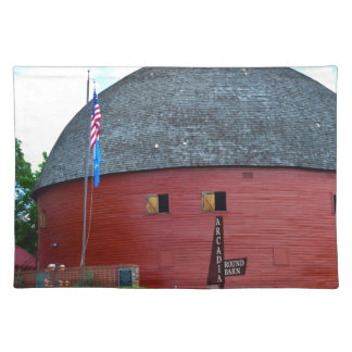 The Round Barn of Arcadia Placemat