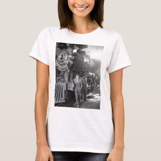 The Roundhouse Gals Vintage Locomotive T-Shirt
