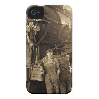 The Roundhouse Rosies of World War I Vintage Case-Mate iPhone 4 Cases