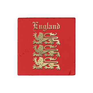 The Royal Arms of England Stone Magnet