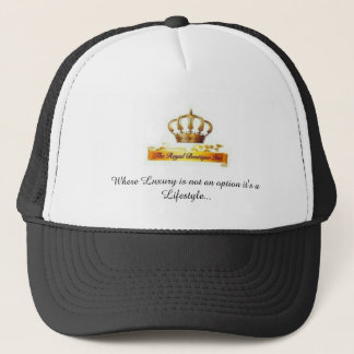 The Royal Boutique brand head wear. Trucker Hat