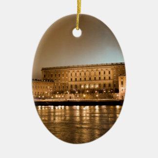 The Royal Castle, Stockholm Sweden Ceramic Ornament