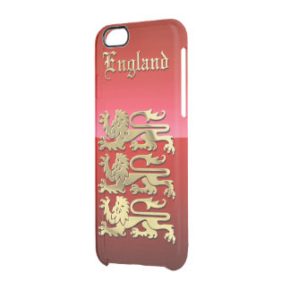 The Royal Crest Of England Clear iPhone 6/6S Case