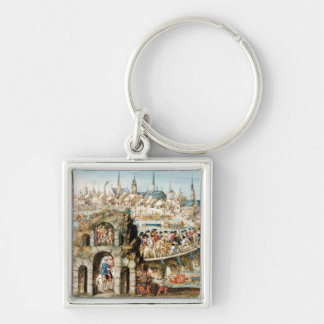 The Royal Entry Festival of Henri II  into Key Ring