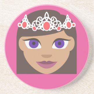 The Royal Families American Princess Emoji Coaster
