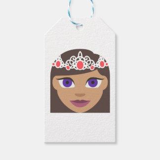 The Royal Families American Princess Emoji Gift Tags