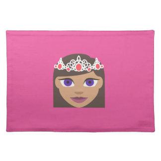 The Royal Families American Princess Emoji Placemat