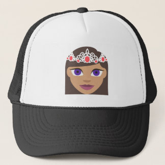The Royal Families American Princess Emoji Trucker Hat