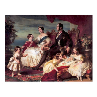 The Royal Family Postcard