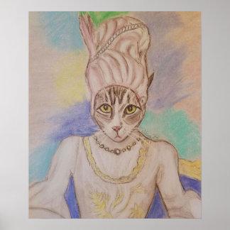 The Royal Feline Poster