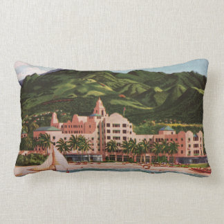 The Royal Hawaiian Hotel Lumbar Cushion
