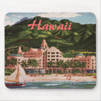 The Royal Hawaiian Hotel Mouse Pad