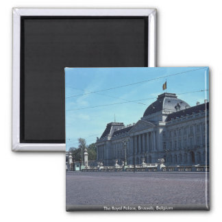 The Royal Palace, Brussels, Belgium Magnet