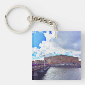 The Royal Palace in Stockholm Key Ring