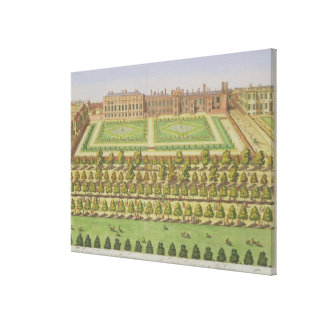 The Royal Palace of St. James', from 'Survey of Lo Canvas Print