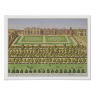The Royal Palace of St. James', from 'Survey of Lo Poster