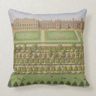 The Royal Palace of St. James', from 'Survey of Lo Throw Pillow