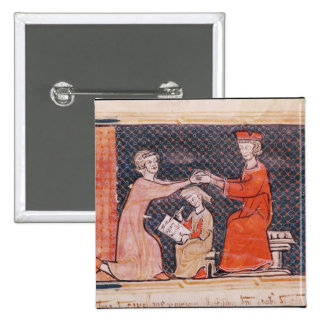 The Royal Prosecutor, the Scribe 15 Cm Square Badge