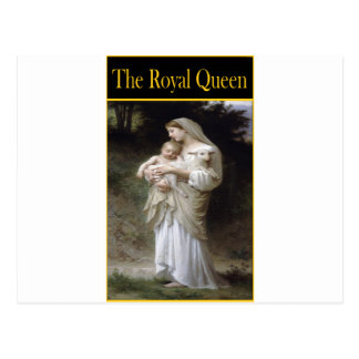 THE ROYAL QUEEN- Innocence Postcard