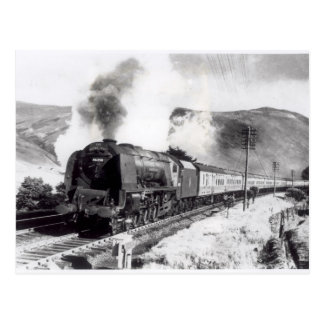 The Royal Scot, intercity locomotive Postcard