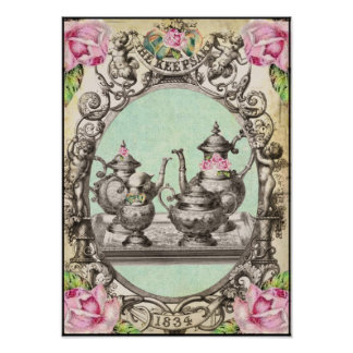 tHe RoYaL TeA PaRTy aRt PRiNT
