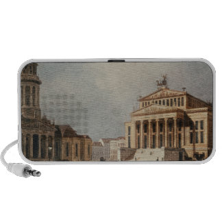 The Royal Theatre and the New Church, 1833 Mp3 Speakers