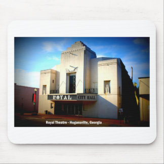 THE ROYAL THEATRE - HOGANSVILLE, GEORGIA MOUSE PAD