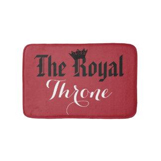 """""""The Royal Throne"""" Bath Mat"""