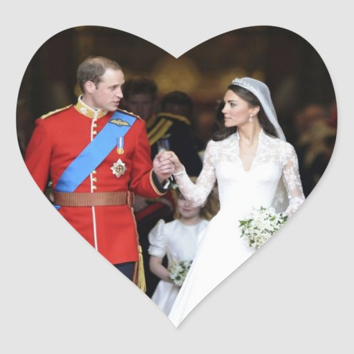 The Royal Wedding 8 Stickers