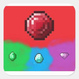 The Ruby Trio Sticker