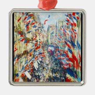 The Rue Montorgueil Paris Festival of June Christmas Ornaments