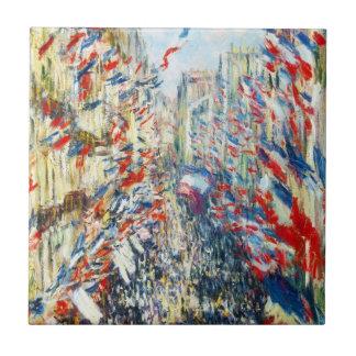 The Rue Montorgueil, Paris, Festival of June Tile