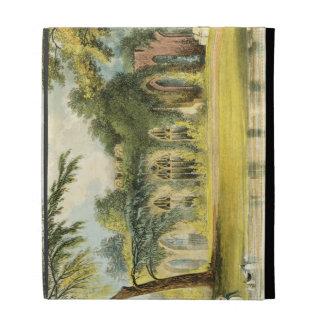 The Ruins, Frogmore, 1828 (colour litho) iPad Folio Cases