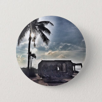 The Ruins in Bantayan Island 6 Cm Round Badge