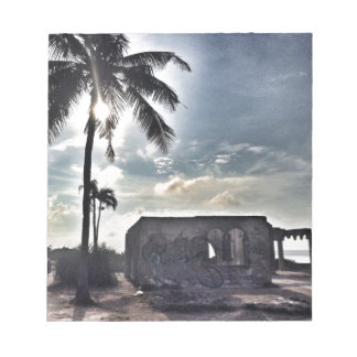 The Ruins in Bantayan Island Notepad