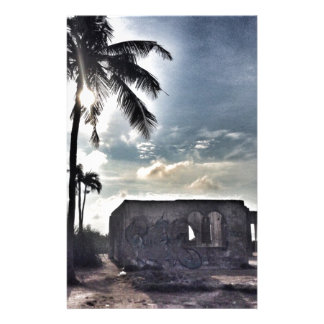 The Ruins in Bantayan Island Stationery