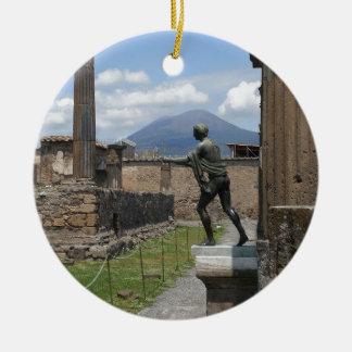 The Ruins of Pompeii Ceramic Ornament