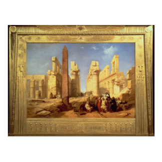 The Ruins of the Palace of Karnak at Thebes Postcard