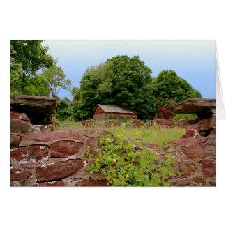 [The Ruins] Stone Wall Farm [Blank Inside] Card