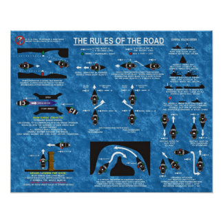 The Rules of the Road Poster