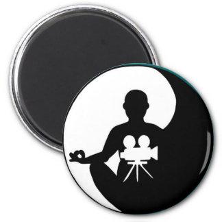 The Rune of Levitation 6 Cm Round Magnet