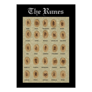 The Runes poster
