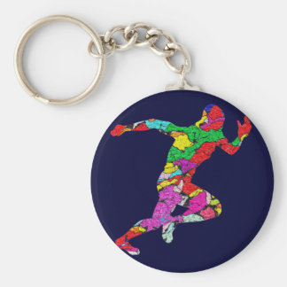 The Runner Key Ring