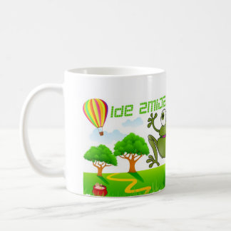 The Running Snake (Ide Zmija) Mug